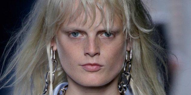 Hanne Odiele, modella intersessuale: