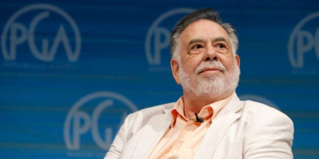 Francis Ford Coppola speaks on stage at the Produced By Conference - Day 2 at Warner Bros. Studios on...
