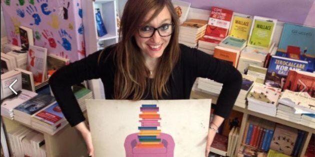 Cristina Di Canio, da manager a libraia.