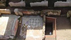 Antica caserma romana trovata sotto la metro C di Roma: