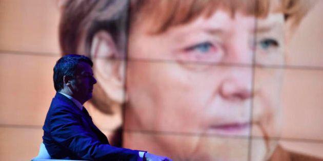 Renzi e Merkel mai così distanti: venerdì il premier a Berlino. Il sospetto: attaccano Atene perché Roma
