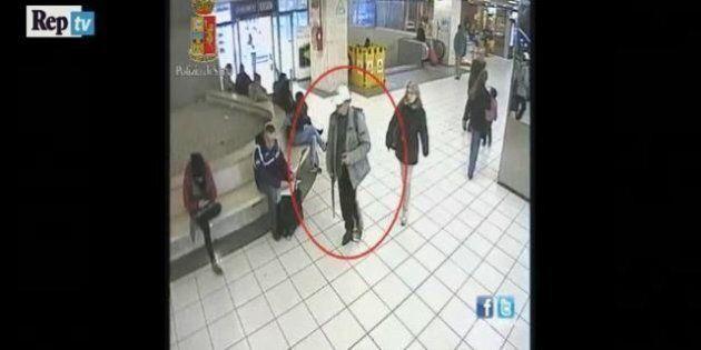 Luca Campanile, l'uomo con il fucile giocattolo alla stazione Termini: