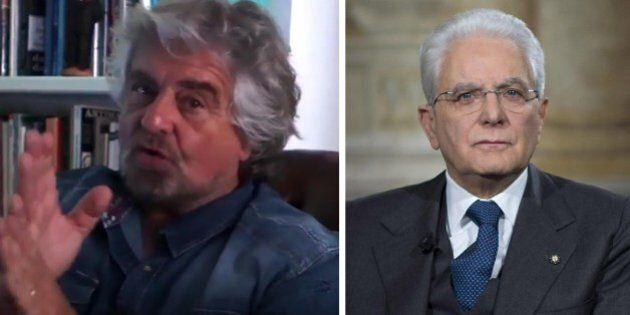 Italicum, Beppe Grillo scrive a Sergio Mattarella: