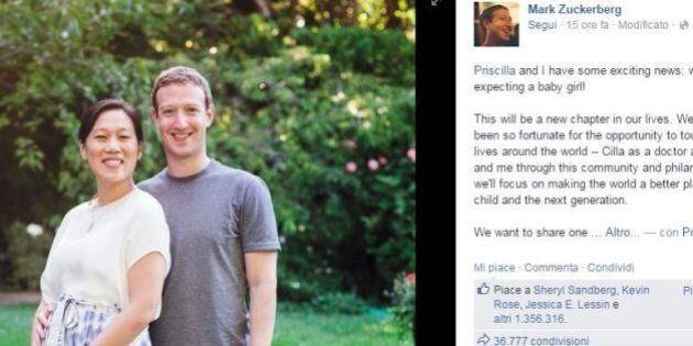 Mark Zuckerberg sull'aborto: