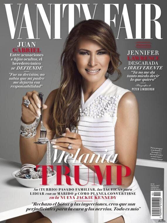 Melania Trump in copertina su Vanity Fair Messico: