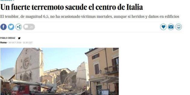 I borghi medievali italiani devastati dal sisma sui media di tutto il