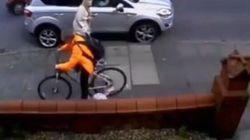 Dopo questo video non andrete più in bicicletta sul