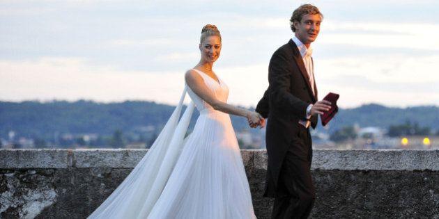 Il vestito bianco Armani di Beatrice Borromeo nel secondo