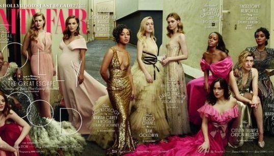 Natalie Portman rievoca Demi Moore nell'iconica foto della gravidanza su Vanity