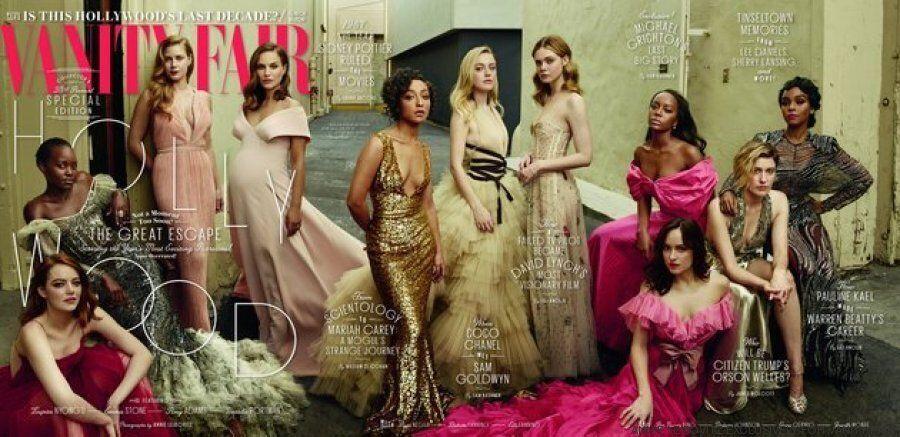 Natalie Portman rievoca Demi Moore nell'iconica foto della gravidanza: le immagini di Annie Leibovitz...