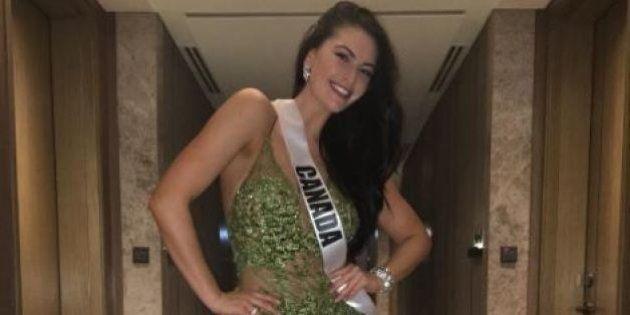 Siera Bearchell, rappresentante del Canada a Miss Universo, risponde alle critiche di chi la vede troppo