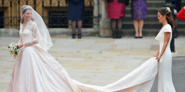 Kate Middleton non sarà la testimone di nozze al matrimonio di