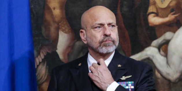 Il dossier anonimo contro l'ammiraglio Giuseppe De Giorgi: