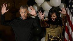 Nell'ultima festa di Halloween alla Casa Bianca gli Obama hanno dato