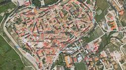 Norcia vista dal satellite: la mappa dei crolli dopo il