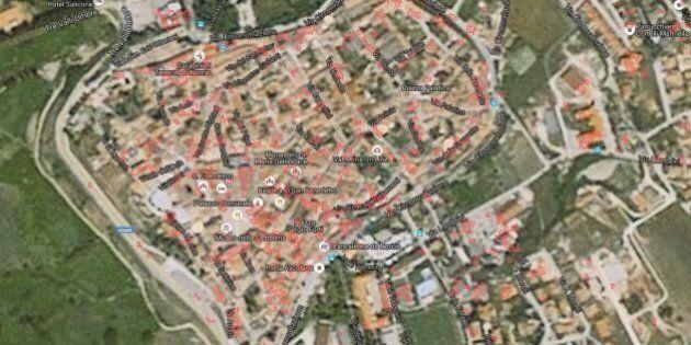 I danni del terremoto a Norcia nelle immagini dei satelliti Cosmo SkyMed