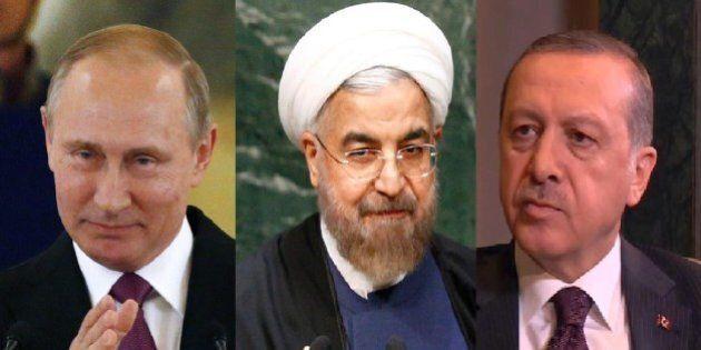 Prove di Triplice Alleanza tra Russia, Iran e Turchia: sostegno di Mosca e Teheran ad Ankara. Domani...