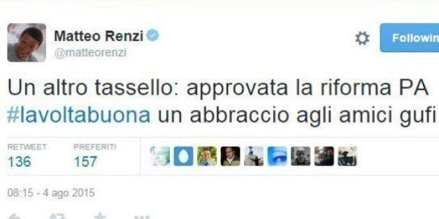 Pubblica amministrazione, la riforma è legge. Via libera anche al dl Enti locali. Renzi: