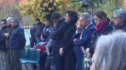 Renzi e la moglie Agnese alla messa di Ognissanti a Preci. Il premier: