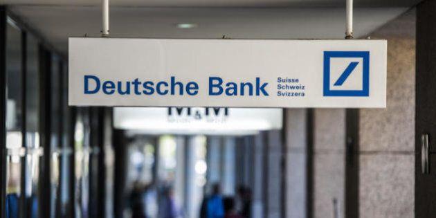 Deutsche Bank attacca il quantitative easing (per conflitto