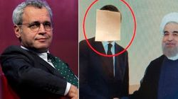 Statue coperte? Mentana copre il volto di Renzi nella foto con