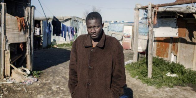 Rifugiati accampati