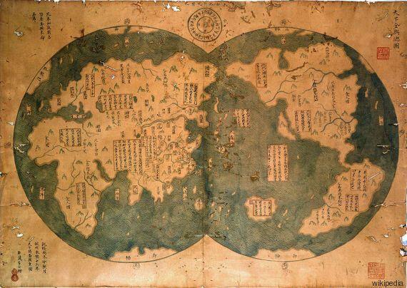 Sono stati i cinesi a scoprire per primi l'America? La storia della mappa di Zheng