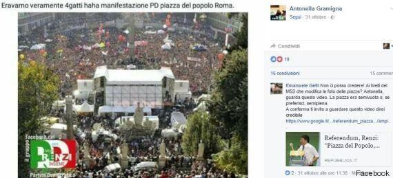 La gaffe di Antonella Gramigna (Pd - Donne per il Sì):