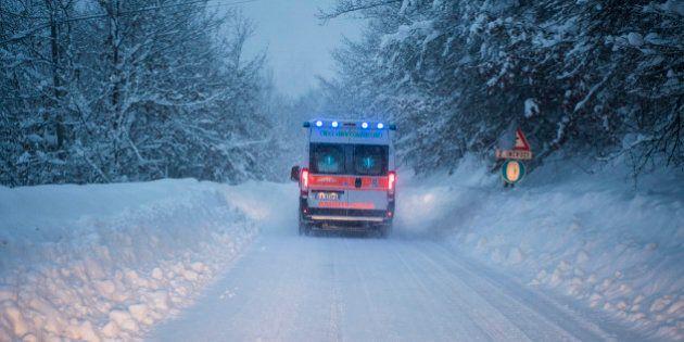Montereale, muore un uomo di 52 anni: dormiva in una roulotte dal giorno del sisma, con temperature a