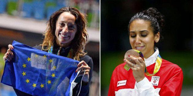 Il fioretto lancia messaggi di pace: Elisa Di Francisca dedica la medaglia all'Ue, Mogherini e la Commissione