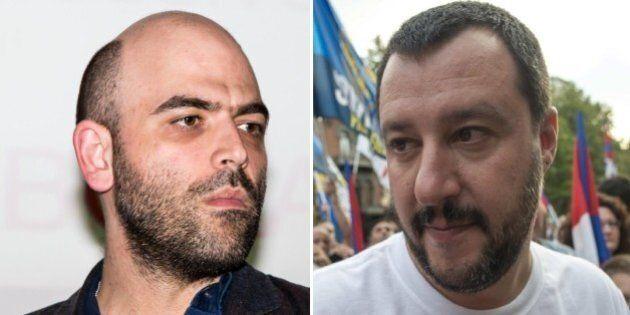 Roberto Saviano Vs Matteo Salvini: