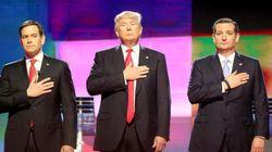 Il balletto (a destra) dei Repubblicani