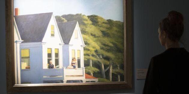 Dieci quadri di Hopper per dieci
