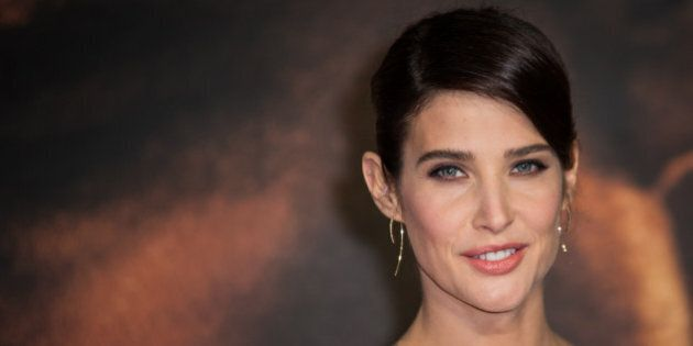Cobie Smulders poses for photographers upon arrival at the premiere of the film 'Jack Reacher: Never...