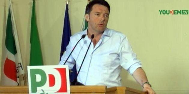 Matteo Renzi rinvia a settembre la discussione sul Sud. Emiliano e De Luca abbracciano il