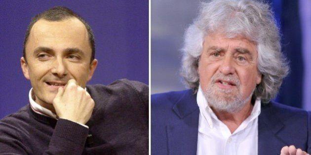 Daniele Luttazzi vs Beppe Grillo sul suo blog: