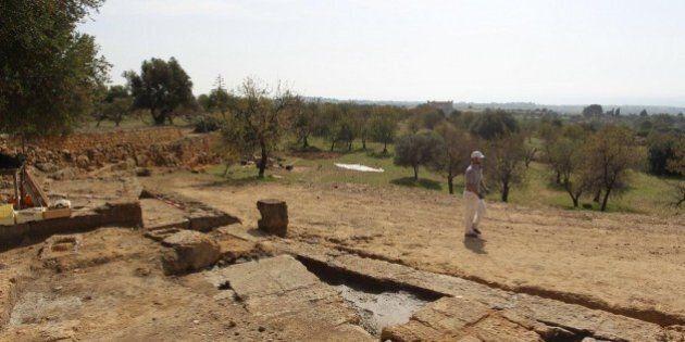 Valle dei Templi, dagli scavi emerge la cavea di un teatro di età