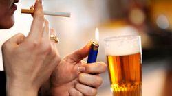 Perché si fuma quando si beve