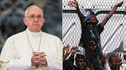 Il Papa a Lesbo lancerà una corona di fiori in mare e pranzerà in un container con i