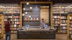 Amazon apre la sua prima libreria