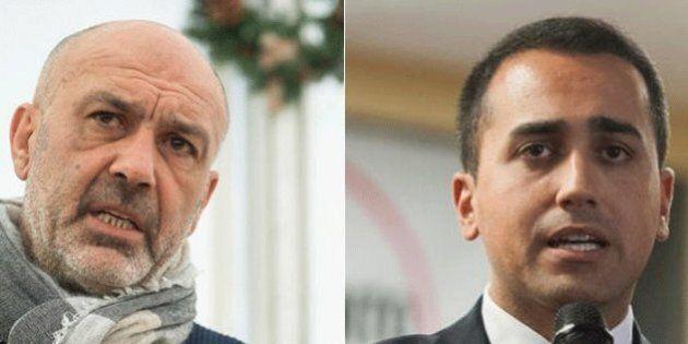 Sergio Pirozzi, sindaco di Amatrice, contro Luigi Di Maio: