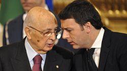 Renzi e Napolitano di sponda sulle