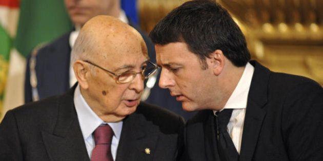 Trivelle, Matteo Renzi e Giorgio Napolitano di sponda sul referendum. Il premier:
