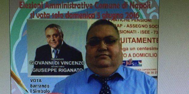 Napoli, lista Verdini. L'inquietante manifesto del candidato Ala: in secondo piano il cognato del boss...