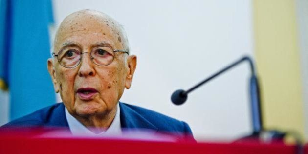 Giorgio Napolitano scrive a Eugenio Scalfari