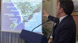 Renzi polemico con de Magistris su Bagnoli:
