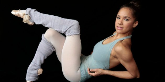 NEW YORK, NEW YORK--MAY 22, 2014--Prima ballerina Misty Copeland will be a make history as the 1st African-American...