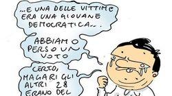 Questa vignetta di Natangelo su Renzi ha fatto infuriare il