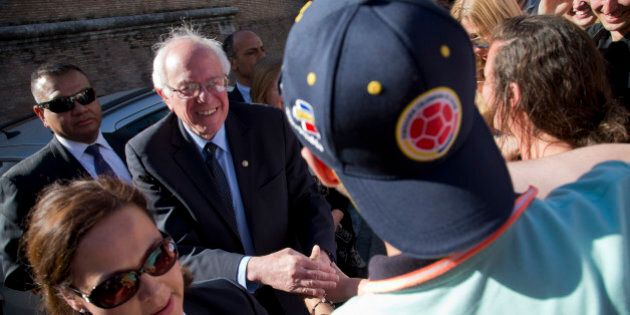 Bernie Sanders in Vaticano. Papa Francesco si smarca:
