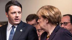 Matteo Renzi domani da Angela Merkel con